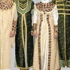 Древнерусская одежда: горожане и сельские жители