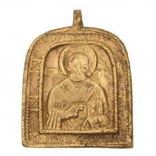 Нательная арочная икона «Святитель Николай»