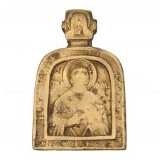 Поморская нательная арочная икона «Святитель Николай»
