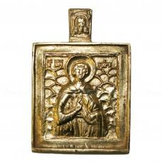 Икона вершковая «Мученик Уар»