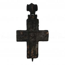Массивный крест-энколпион «Распятие и Богородица Агиосоритисса», pic. 1