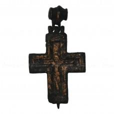 Массивный крест-энколпион «Распятие и Богородица Агиосоритисса»