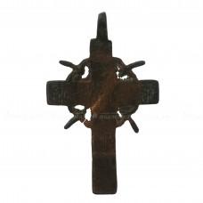 Медный нательный крестик с Голгофским крестом, pic. 1
