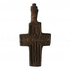 Мужской прямоугольный нательный крестик «Крестьянский»