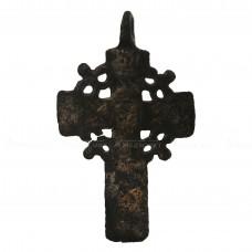 Нательный крест «Мужской с венцом из якорьков», pic. 1