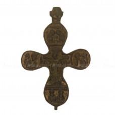 Крест двухсторонний «Распятие Христово. Иоанн Предтеча»