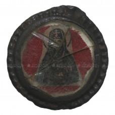 Стеклянная ладанка «Богородица в короне и Иоанн Святогорский», pic. 1