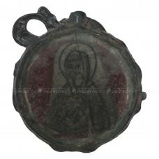 Стеклянный образок «Покров и великомученица Параскева», pic. 1
