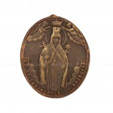 Образок «Святая княгиня Евфросиния Полоцкая и крест»