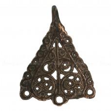 Треугольная языческая привеска «Древо жизни»