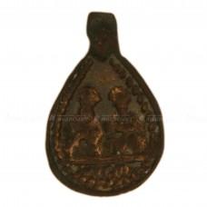 Иконка-привеска «Святой Николай Чудотворец и архидиакон Стефан»