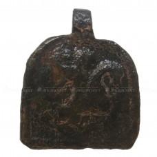 Малая арочная икона-привеска «Георгий Победоносец»