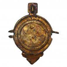 Позолоченная створка панагии «Богоматерь Знамение (Оранта)», pic. 1