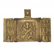 Складень «Николай Чудотворец. Избранные святые»