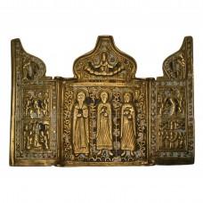Складень «Святые Антипа, Флор и Лавр»