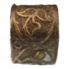 Широкое кольцо со следами выемчатой эмали