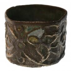 Широкое кольцо со следами выемчатой эмали, pic. 1