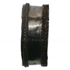 Старинное широкое  серебряное кольцо «Филигрань со жгутиками»