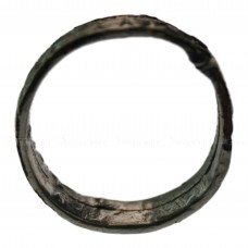 Старинное серебряное кольцо на медном каркасе, pic. 1