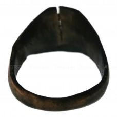 Медный перстень «Домонгольский со свастическим знаком», pic. 1