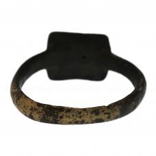 Перстень фигурнощитковый «Рельефный орнамент из прямоугольников», pic. 1