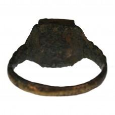 Старинный перстень со стеклянной вставкой, pic. 1