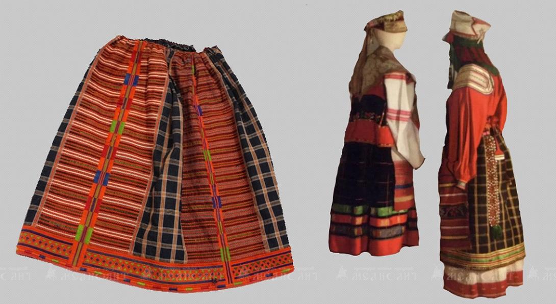 Крестьянский костюм Древней Руси